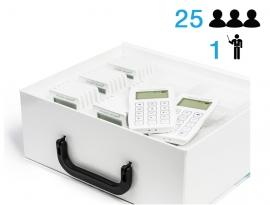 Интерактивная система голосования TRIUMPH TB Voting RF550 (25+1)
