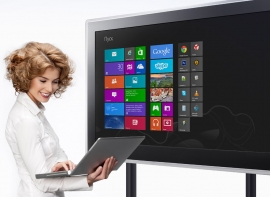 Интерактивный дисплей - больше чем телевизор!